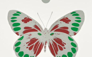 Science Xmas Butterfly Print
