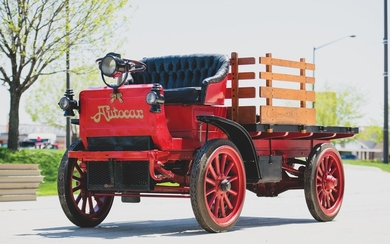 1910 Autocar Stake-Bed Truck