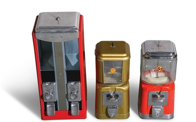 Assorted Candy Machines