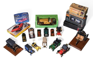 Assorted Model Cars