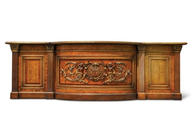Carved Lobby Counter