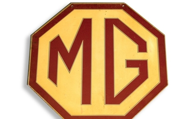 MG Double-Sided Sign