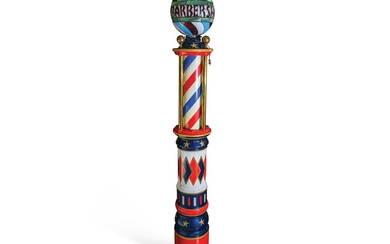 Standing Barber Pole