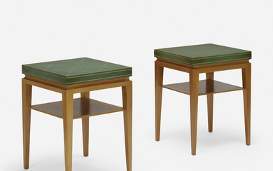 Tommi Parzinger, occasional tables model 3303, pair