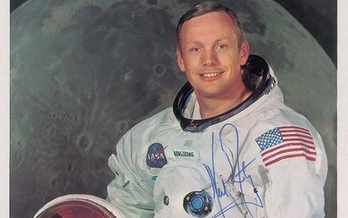 Neil Armstrong Signed Photograph