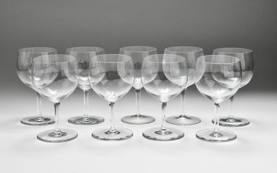 Baccarat Crystal Rabelais Water Goblets, 7