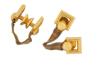 A pair of cufflinks, by Meister