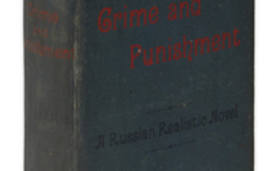 [DOSTOYEVSKY.] Dostoieffsky, Fedor. Crime and Punishment. A...