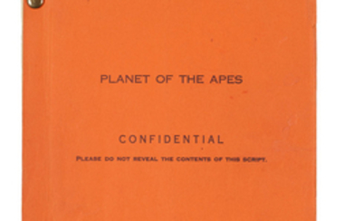 A final shooting script of Planet of the Apes