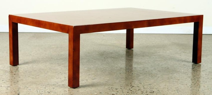 MID CENTURY MODERN LACQUERED COFFEE TABLE C.1970