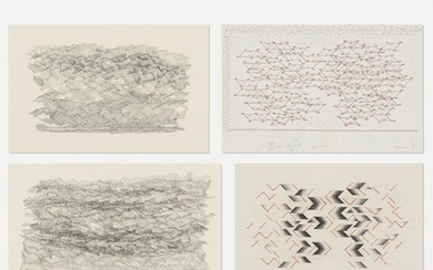 Sewell Sillman, collection of four drawings