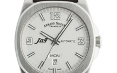 Armand Nicolet - J09 Day&Date Automatic - 9650A-AG-P660NR2 - Men - 2011-present
