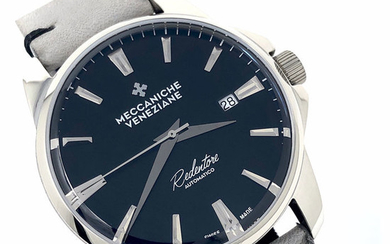 "Meccaniche Veneziane - Automatic Limited Edition Forte Marghera Ardesia Black - 1201012 "" NO RESERVE PRICE"" - Men - BRAND NEW"