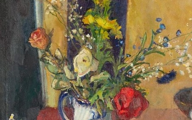 Richard Smith (20th Century)/Still Life with Jug of