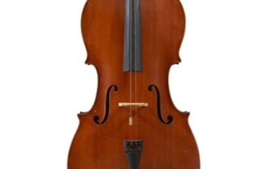 A Cello Unlabeled. Length of Back: 760 mm