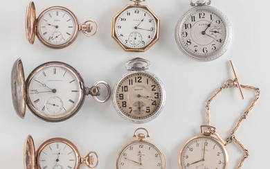 Eight Elgin Watch Co. Watches