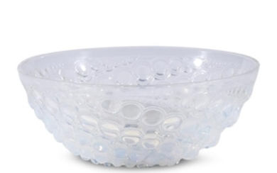 A Lalique Volutes Bowl France, early 20th century Opalescent...