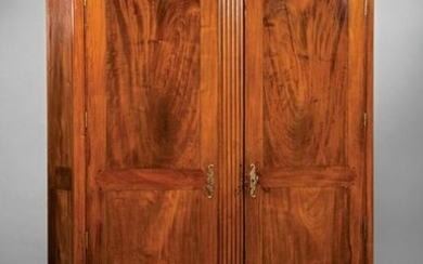 Louisiana Carved Cherrywood Armoire
