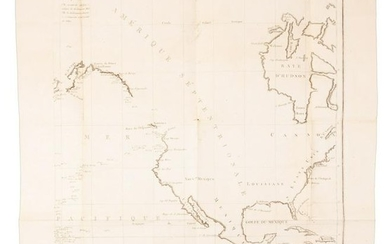 Maps showing magnetic declination on Cook's voyages
