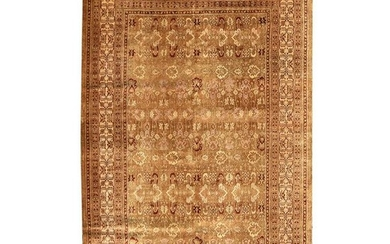 Persian Agra Wool Carpet.