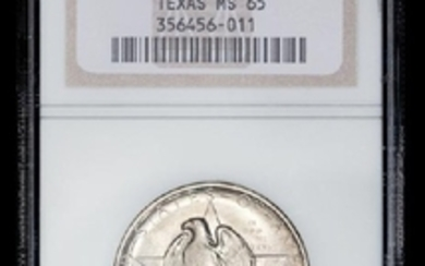 A United States 1936-S Texas Commemorative 50c Coin