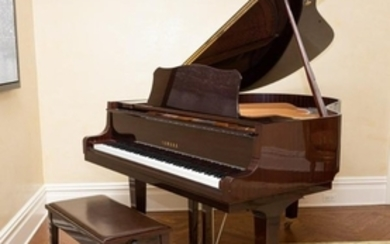Yamaha - Mahogany Baby Grand Piano & Bench