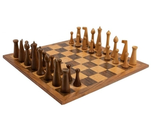 Herman Ohme - Modernist Wood Chess Set