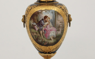19TH C. SEVRES PALACE VASE