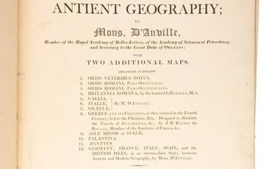 Atlas of ancient world by d'Anville