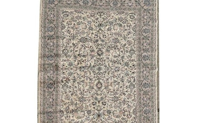 Isfahan Persian Wool Rug.