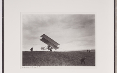 LARTIGUE, JACQUES-HENRI (1894-1986) [Zissou takes off his ZYX 24, Rouzat],