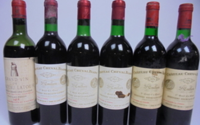 Mixed Lot Premier Grand Cru Bordeaux 1958/1969/1974