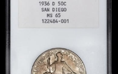 A United States 1936-D San Diego Commemorative 50c Coin