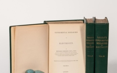 Faraday, Michael (1791-1867) Experimental Researches in Electricity.