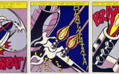 Roy LICHTENSTEIN (1923-1997), d'après As I opened