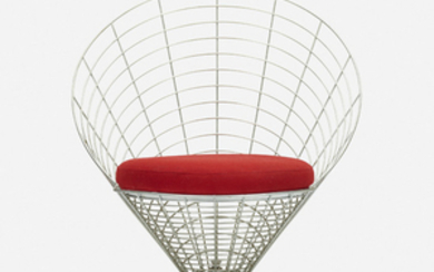 Verner Panton, Wire cone chair, model K2
