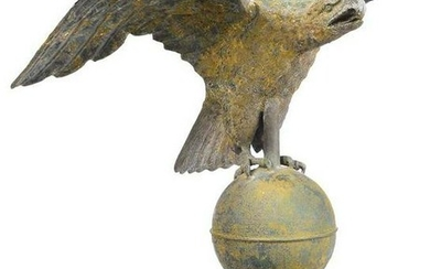 American Molded Copper Eagle Weathervane