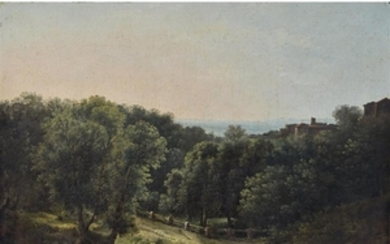 CIRCLE OF JEAN JOSEPH BIDAULT (french, 1758-1846) LANDSCAPE WITH...