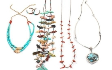 Three Southwestern Necklaces