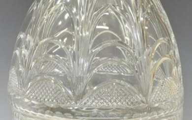 FRENCH CRYSTAL 'CAVE A CHAMPAGNE' CHAMPAGNE COOLER