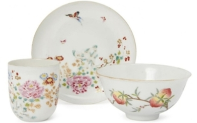 A Chinese porcelain ogee bowl, Xianfeng mark...