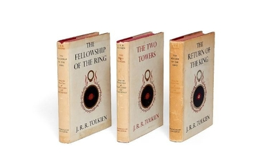 J.R.R. Tolkien, The Lord of the Rings Trilogy, first editions [George Allen & Unwin Ltd., 1954-1955]