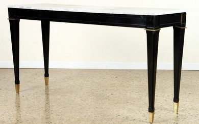 MARBLE TOP CONSOLE MANNER JEAN-MICHEL FRANK C1940