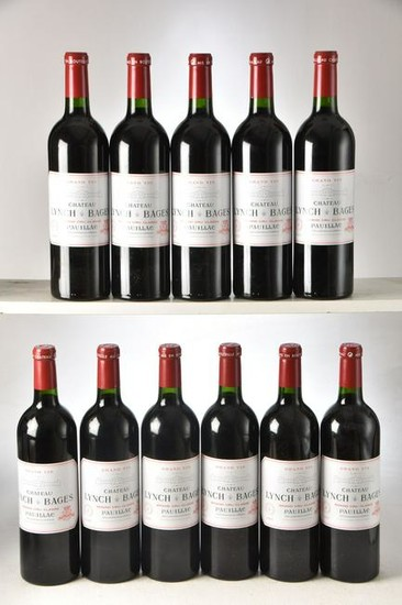 Chateau Lynch Bages 2005 Pauillac 11 bts IN BOND