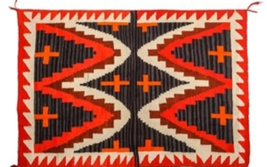 Navajo Transitional Weaving