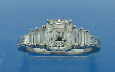 Classy and Timeless 1.38-ct DIAMOND (G VS1) WHITE GOLD