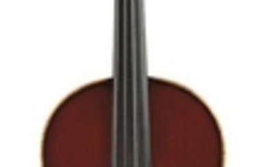 French Violin - Albert Caressa, Paris, 1924, bearing the maker's original label, numbered 106, length of one-piece back 356 mm.