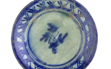 Plate Soup plate with wide body and clear fairing; ring...