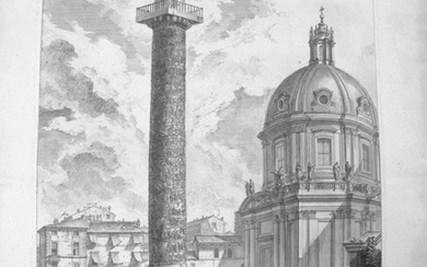 Piranesi, Giovanni: THE TRAJAN'S COLUMN, Year 1758