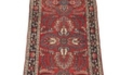 Antique Hand-Knotted Extra-Long Daragazin Runner, ca. 1930's